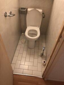 WC appartement avant rénovation